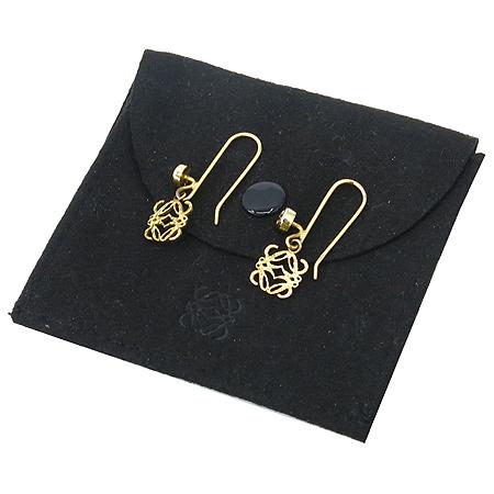 Loewe(로에베) 925(실버) 금장 귀걸이