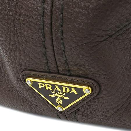 Prada(프라다) BN2097 브라운 레더 숄더백 [압구정매장]
