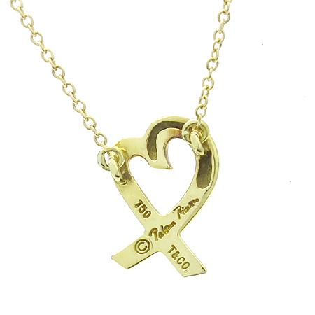 Tiffany(티파니) 18K(750) Y/G 파로마 피카소 러빙하트 목걸이 [명동매장]