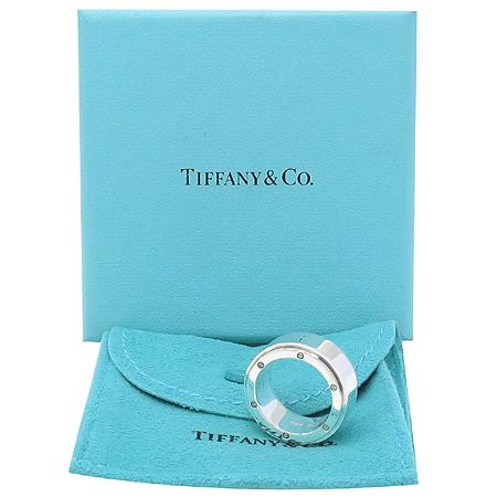 Tiffany(티파니) 925(실버) METRO POLIS(메트로 폴리스) 링 반지