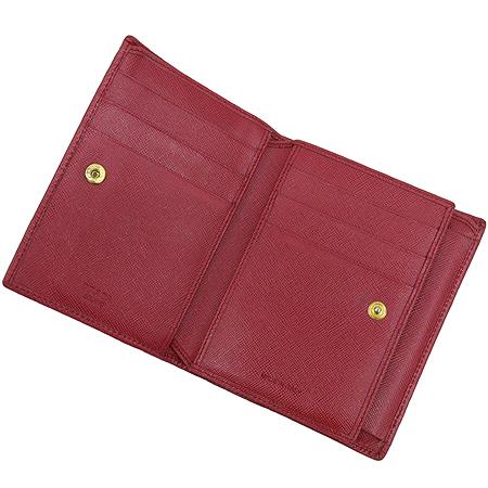 Prada(프라다) 1M0668 삼각 로고 장식 레드 SAFFIANO(사피아노)  중지갑