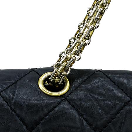Chanel(샤넬) A37590Y04634 C3906 빈티지 블랙 2.55 L사이즈 금장로고 체인 숄더백 [부천 현대점]