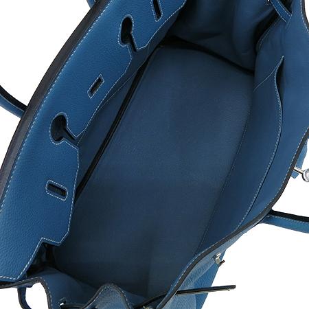 Hermes(에르메스) 토고 블루진 벌킨 35 은장로고 토트백 이미지7 - 고이비토 중고명품