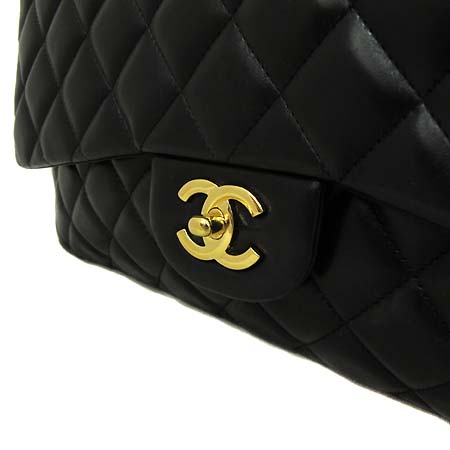 Chanel(샤넬) 램스킨 클래식 맥시 사이즈 금장 체인 숄더백 [부천 현대점]