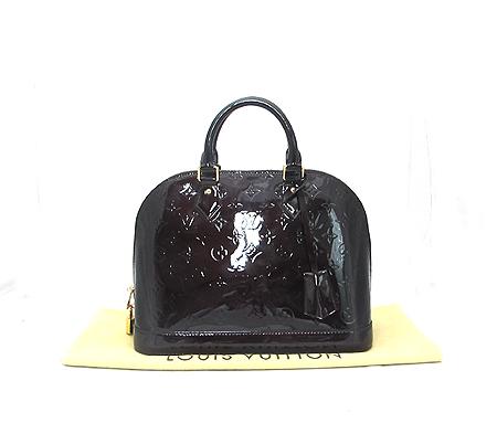 Louis Vuitton(루이비통) M91611 모노그램 베르니 아마랑뜨 알마 PM 토트백 [분당매장]