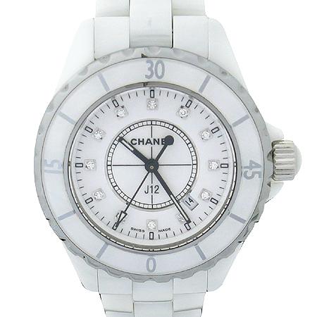 Chanel(����) H1628 J12 ȭ��Ʈ ����� 12����Ʈ ���̾� 33MM ������ �ð�