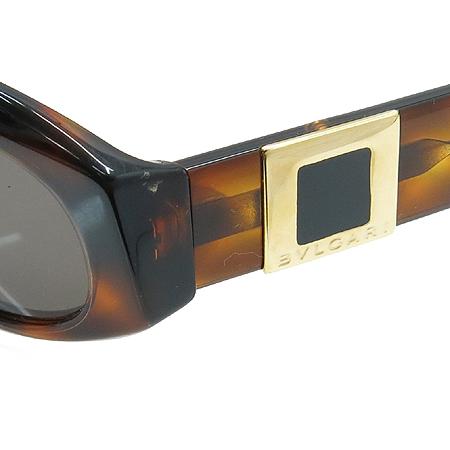 Bvlgari(불가리) 822 측면 로고 장식 선글라스 이미지4 - 고이비토 중고명품
