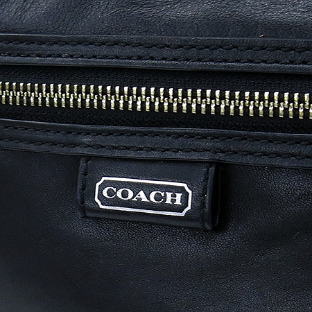 Coach(코치) F23978 블랙 레더 원 포켓 숄더백 이미지3 - 고이비토 중고명품