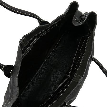 Tod's(토즈) 브라운 레더 스티치 쇼퍼 D-BAG 숄더백