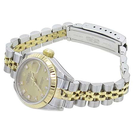 Rolex(로렉스) 69173 18K 콤비 10포인트 옵션 다이아 여성용 시계
