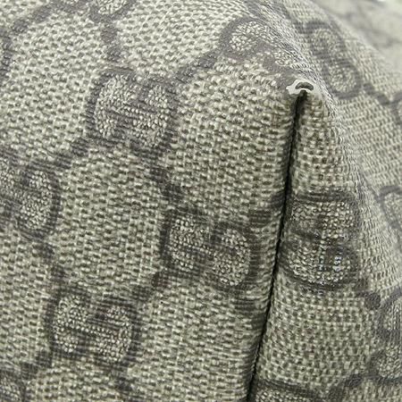 Gucci(구찌) 197953 GG로고 PVC 카키 에나멜 트리밍 쇼퍼 숄더백