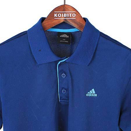 Adidas(아디다스) 네이비컬러 카라 반팔 티 이미지2 - 고이비토 중고명품