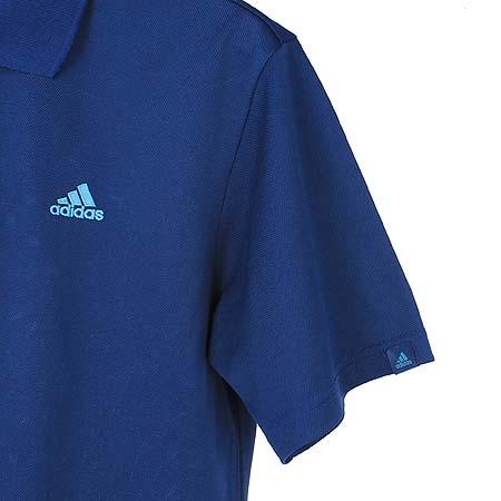 Adidas(아디다스) 네이비컬러 카라 반팔 티 이미지3 - 고이비토 중고명품