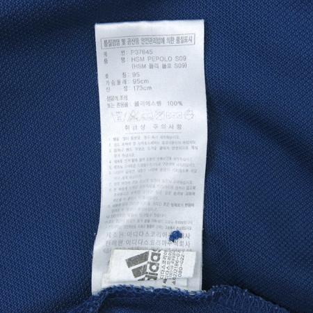 Adidas(아디다스) 네이비컬러 카라 반팔 티 이미지5 - 고이비토 중고명품