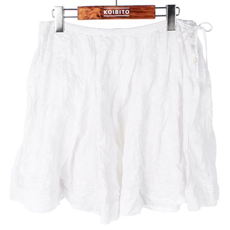 Polo Jeans(폴로 진스) 화이트컬러 스커트 [인천점]