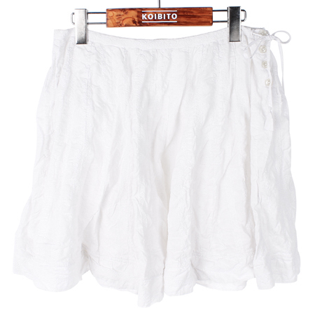 Polo Jeans(폴로 진스) 화이트컬러 스커트