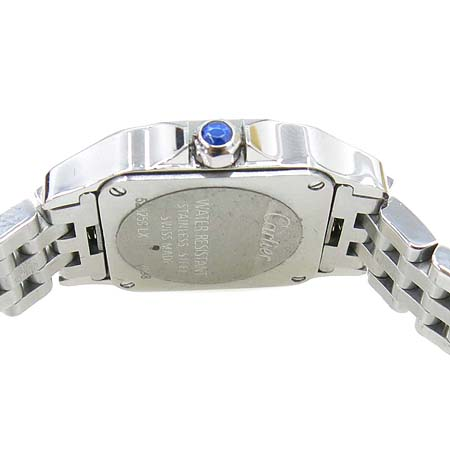 Cartier(까르띠에) W25064Z5 산토스 드모아젤 스틸 S 사이즈 쿼츠 여성용 시계 [명동매장]