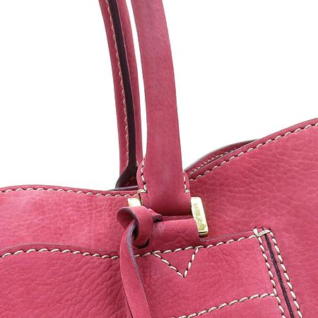 LORO PIANA(로로피아나) BELLEVUE(벨뷰) 핑크 레더 쇼퍼 숄더백 [압구정매장]