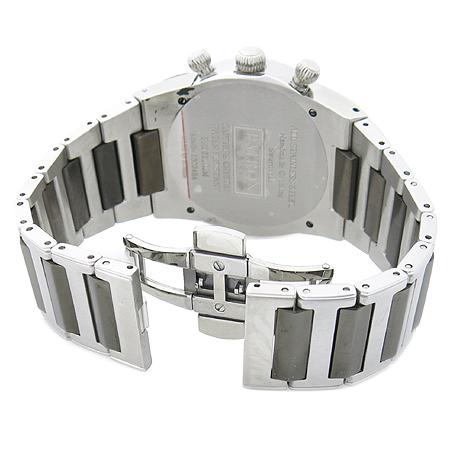 PATRON(패트론) PR201202WM 크리스탈 장식 스틸 남성용 시계 이미지4 - 고이비토 중고명품