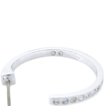 Swarovski(스와로브스키) 장식 링 귀걸이