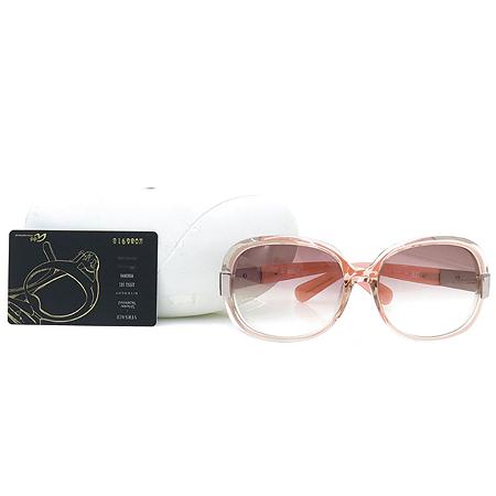 Vivienne_Westwood(비비안웨스트우드) VW 61603 측면 로고 장식 핑크 뿔테 여성용 선글라스