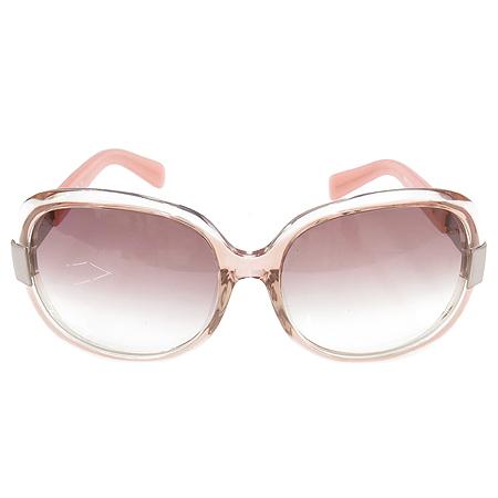 Vivienne_Westwood(비비안웨스트우드) VW 61603 측면 로고 장식 핑크 뿔테 여성용 선글라스 이미지2 - 고이비토 중고명품