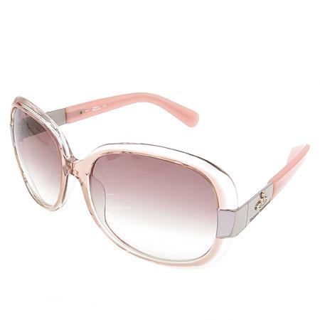 Vivienne_Westwood(비비안웨스트우드) VW 61603 측면 로고 장식 핑크 뿔테 여성용 선글라스 이미지3 - 고이비토 중고명품