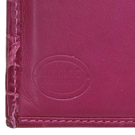 COLOMBO(콜롬보) CA10W024FX 크로커다일 여성용 장지갑
