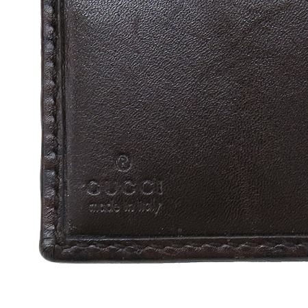 Gucci(구찌) 112664 GG 로고 시마 래더 중지갑