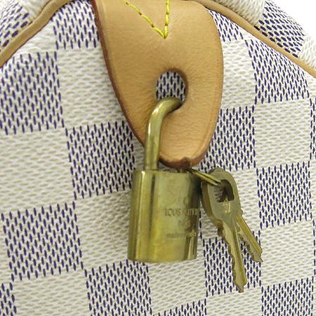 Louis Vuitton(루이비통) N41533 다미에 아주르 캔버스 스피디 30 토트백