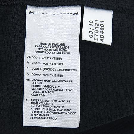 Adidas(아디다스) 블랙컬러 기능성 카라 반팔티