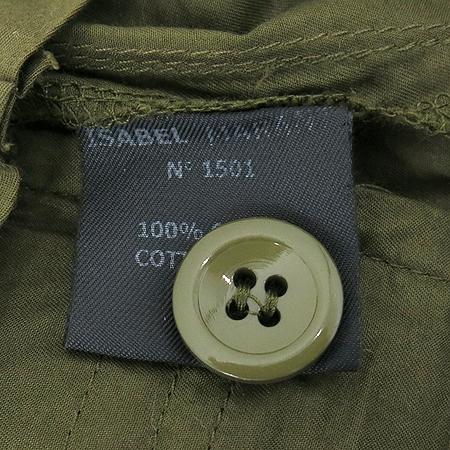 ISABEL MARANT(이자벨마랑) 카키브라운 컬러 바지