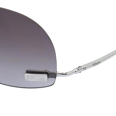 Fendi(펜디) SL7410 실버 메탈 로고 무테 선글라스 [동대문점]