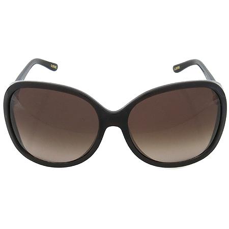 Loewe(로에베) SLW707 측면 금장 로고 장식 뿔테 선글라스 이미지3 - 고이비토 중고명품