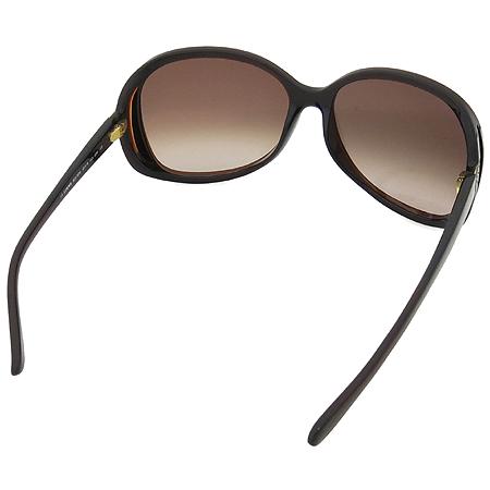 Loewe(로에베) SLW707 측면 금장 로고 장식 뿔테 선글라스