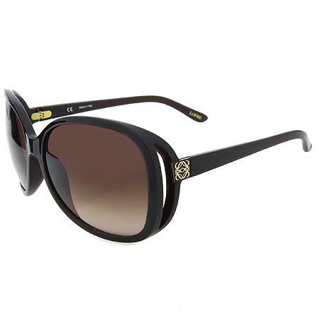 Loewe(로에베) SLW707 측면 금장 로고 장식 뿔테 선글라스 이미지5 - 고이비토 중고명품