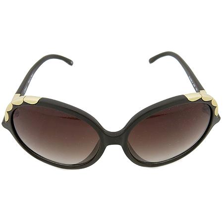 Chloe(끌로에) CL2222 측면 금장 이니셜 로고 장식 뿔테 선글라스