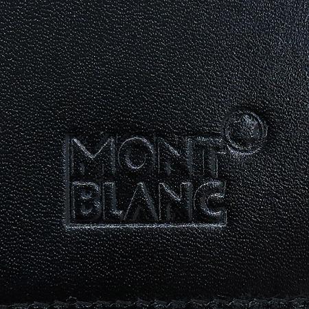 Montblanc(몽블랑) 14108 블랙 레더 카드 겸 명함 지갑 [명동매장]