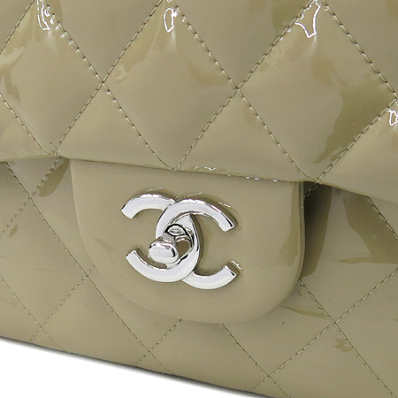 Chanel(샤넬) 페이던트 클래식 점보 L사이즈 은장 체인 숄더백 [압구정매장]