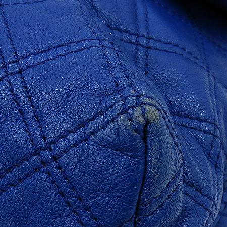 Marc_Jacobs(마크제이콥스) 블루 레더 라지 싱글 금장 체인 숄더백