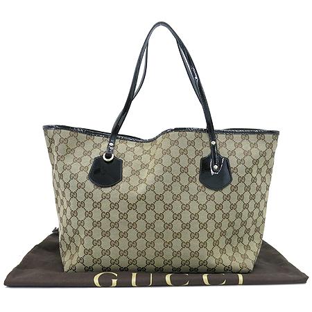Gucci(구찌) 211975 GG로고 자가드 숄더백