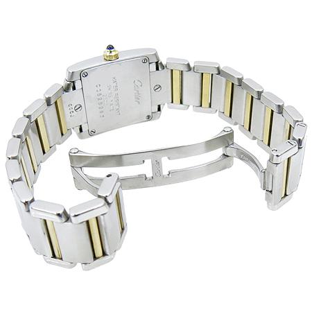Cartier(까르띠에) W51007Q4 18K 콤비 탱크 S 사이즈 여성용 시계