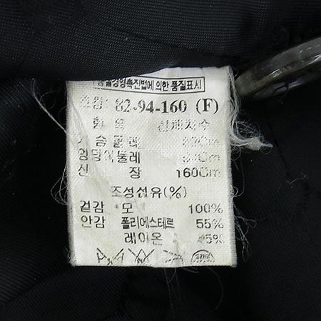 Time(타임) 블랙컬러 코트 이미지5 - 고이비토 중고명품