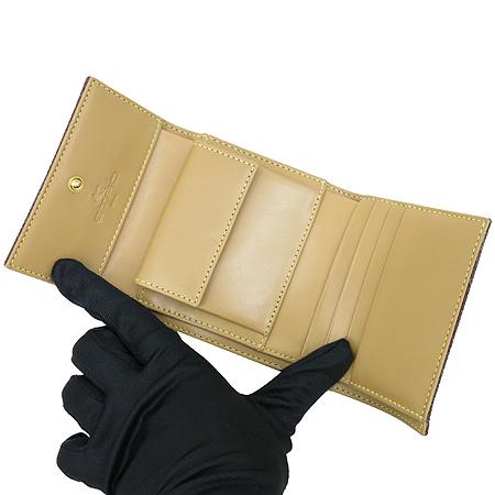 Etro(에트로) 2464-9906 금장 페가수스 페이즐리 PVC 3단 반지갑