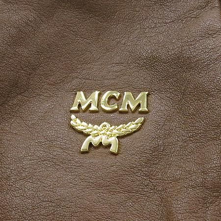 MCM(엠씨엠) 1011092020106 브라운 레더 토트백