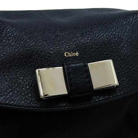 Chloe(끌로에) 3P0508 블랙 레더 릴리 2WAY