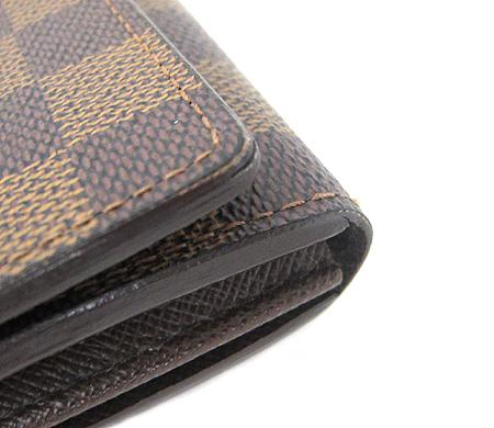 Louis Vuitton(루이비통) N61730 다미에 에벤 캔버스 트레조 월릿 중지갑 [분당매장]
