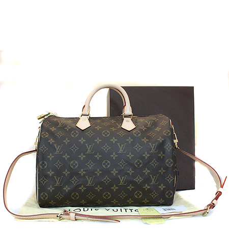 Louis Vuitton(루이비통) M40392 모노그램 캔버스 반둘리에 스피디35 토트백 + 숄더스트랩 [명동매장]