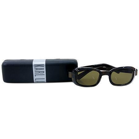Karl Lagerfeld(칼 라거펠드) 레오파드 문양 선글라스