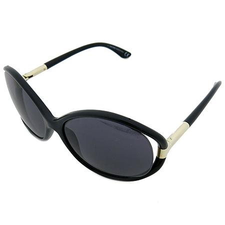 TOMFORD(톰포드) TF124 블랙 뿔테 금장로고 선글라스 [부천 현대점]